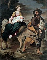 Bartolomé Esteban Murillo: The Flight into Egypt