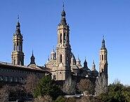 Basilica del Pilar ZaragozaAragon(Spain)