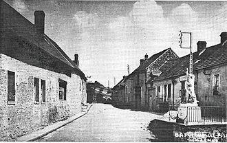 Baslieux-lès-Fismes - War memorial