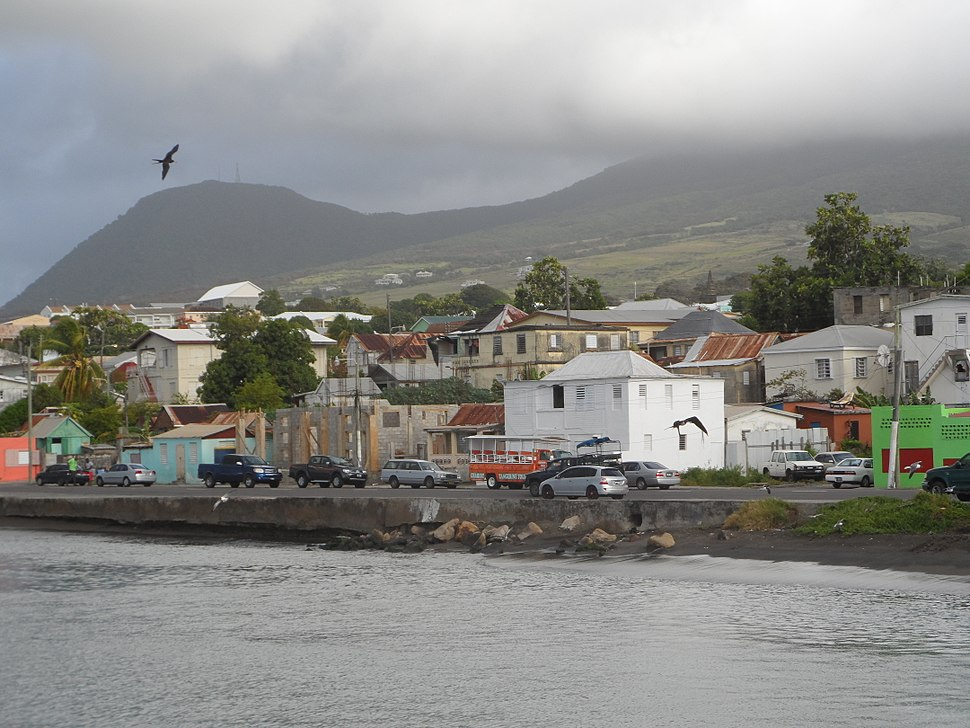 Basseterre from sea 2