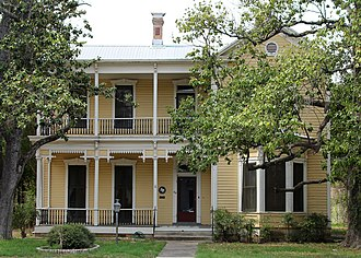 National Register of Historic Places listings in Bastrop County, Texas - Image: Bastain haralson house