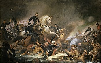 Batalha de Campo Grande (1871), de Pedro Am�rico.