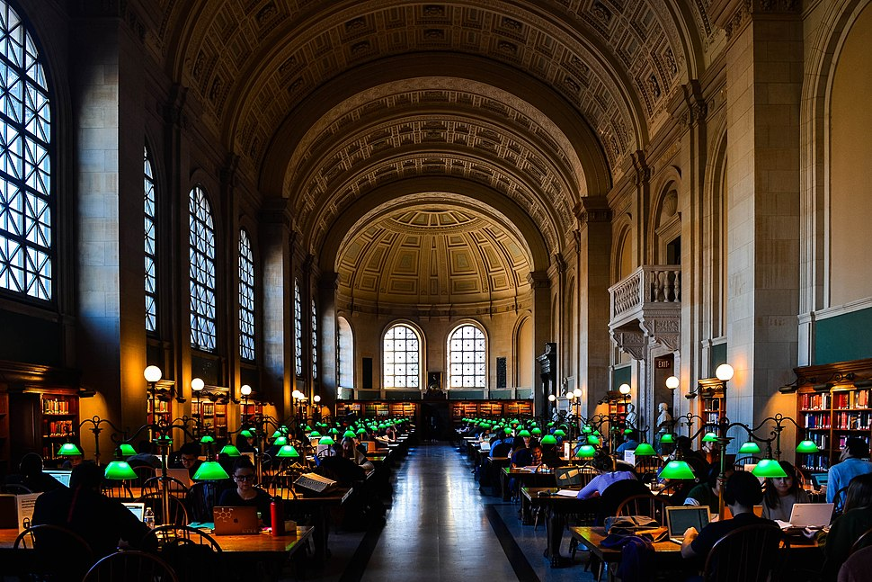 Bates Hall - Boston Public Library