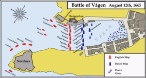 Battle of Vågen - The battle site