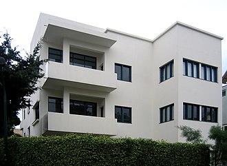 White City (Tel Aviv) - the Bauhaus museum in Tel Aviv