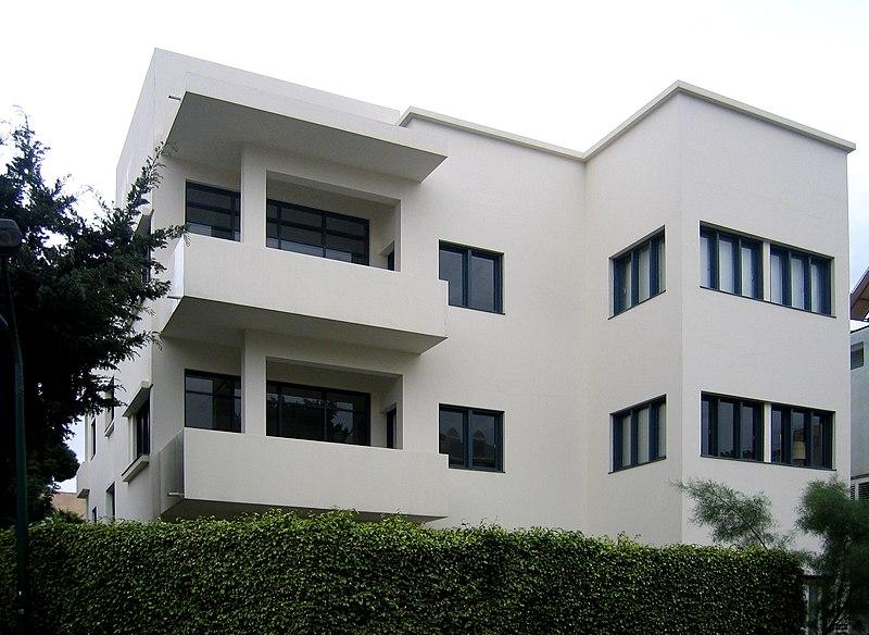 File:Bauhaus Tel-Aviv museum.jpg