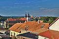 Bazilika sv. Prokopa - pohled od Hrádku, Třebíč.jpg