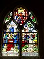 Beauvais (60), église Notre-Dame de Marissel, bas-côté sud, 2e travée, verrière n° 6 - vie de saint Claude.jpg