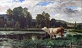 Beaux-Arts de Carcassonne - Les vaches - Edouard-Bernard Debat-Ponsan.jpg