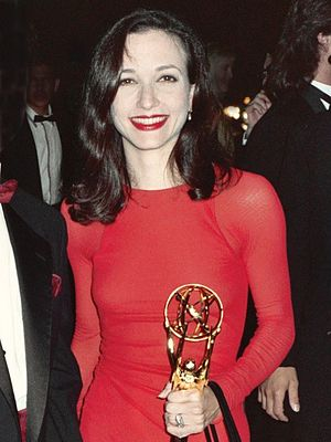 Bebe Neuwirth - At the Governor's Ball after winning the back-to-back Emmy Award for Outstanding Supporting Actress in a Comedy Series at The 43rd Annual Primetime Emmy Awards, August 25, 1991