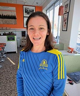 Becca Pizzi American marathon runner