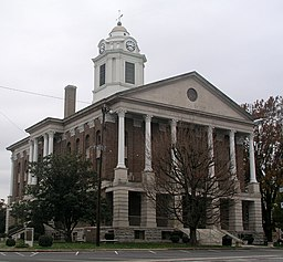 Bedford County courthouse i Shelbyville.