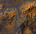 Bedrock in Luki Crater in the Southern highlands.jpg