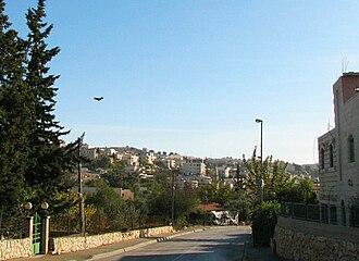Beit Safafa - Entrance to Beit Safafa
