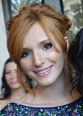 Thorne at the Imagen Awards in 2012