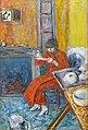 Bemberg Fondation Toulouse - Femme au peignoir rouge (1916) Pierre Bonnard - Inv.2020 50.5x34.jpg