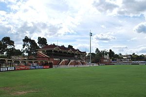 Queen Elizabeth Oval - Image: Bendigo Queen Elizabeth Oval
