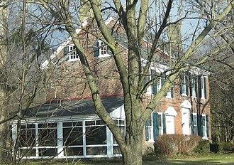 Deptford Township, New Jersey - Benjamin Clark House, built 1769