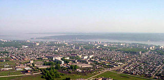 Berdsk Town in Novosibirsk Oblast, Russia