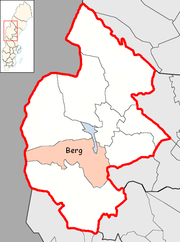Berg Municipality in Jämtland County