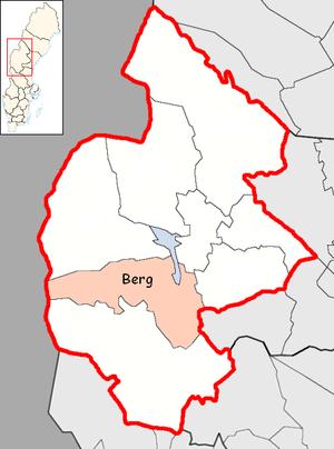 Berg Municipality - Image: Berg Municipality in Jämtland County