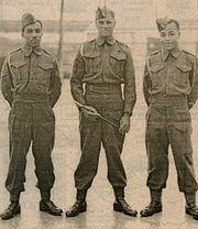 Bermuda Militia Artillery Senior Ranks 1944