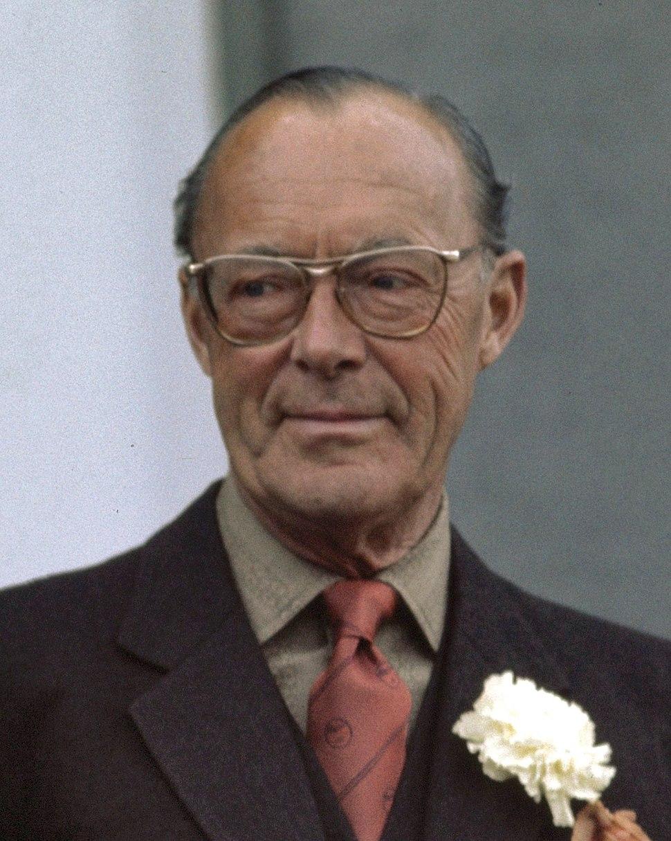 Bernhard of Lippe-Biesterfeld 1976