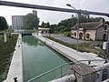 Berry-au-Bac (Aisne) écluse 1 Canal de l'Aisne à la Marne (début du canal).JPG