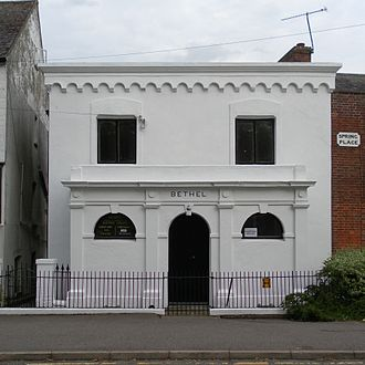 Bethel Strict Baptist Chapel, Robertsbridge - Bethel Chapel's founder James Weller preached across Kent and Sussex, and converted the wife of the Mayor of Rye—who founded this Strict Baptist chapel there.