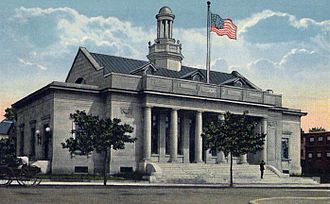 Beverly, Massachusetts - Post Office in 1919
