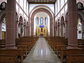 Bexbach Katholische Pfarrkirche St. Martin Innen 01.JPG