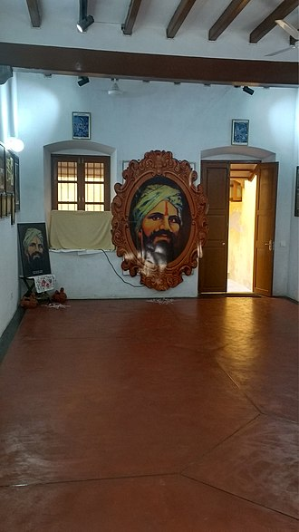 Subramania Bharati - Bharathiyar House in Puducherry