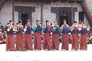Bhutanese Girls in National Dress.jpg