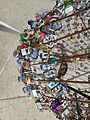 Big Lock, Canfield Fairgrounds, Canfield, Ohio locks.JPG