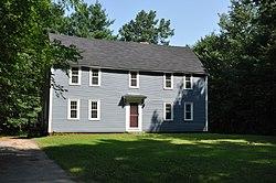 Dea. Samuel Hill House, 33 Riverhurst Rd. Billerica MA c 1725
