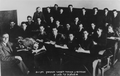 Biology class, 7th form, in the Hebrew Realgymnasium of Kaunas with teacher Abraham Kisin in the late 1930s.png