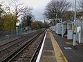 Birkbeck stn mainline look west.JPG