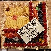 Stupendous Birthday Cake Wikipedia Funny Birthday Cards Online Chimdamsfinfo
