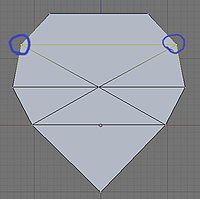 Select the vertices