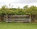 Blocked footpath, Broadwell (1) - geograph.org.uk - 1305469.jpg