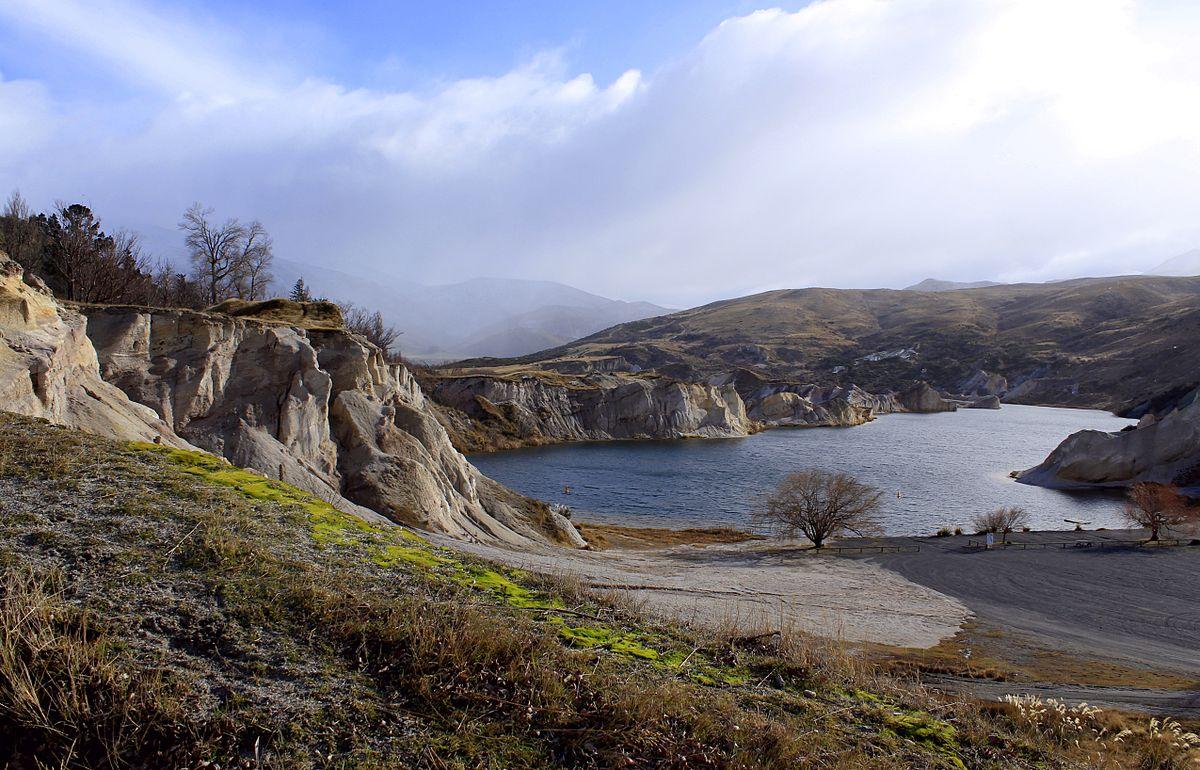Blue Lake (Otago) - Wikipedia