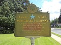 Blue Star Memorial Highway marker, Lake City.JPG