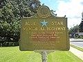 Blue Star Memorial Highway marker, Lake City.JPG