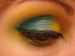 Makeup used: Eyelid base: Make Up For Ever Cra...