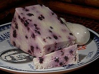 Stilton cheese - Blueberry White Stilton