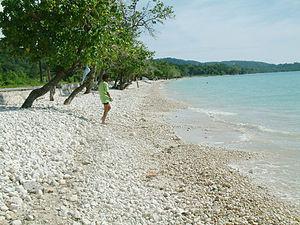 Bluefields Beach - Bluefields Beach, Westmoreland, Jamaica.