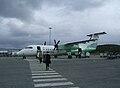 Boarding Wideroe aircraft at Tromsø.jpg