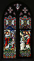 Bobbingworth, Essex, England - St Germain's Church interior - chancel window 03.JPG