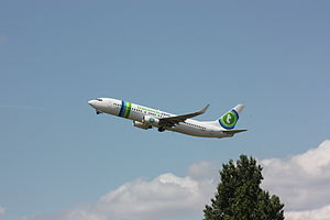 737-800 F-GZHV au décollage à Orly