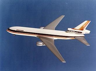 Boeing 777 - 777-100 trijet concept